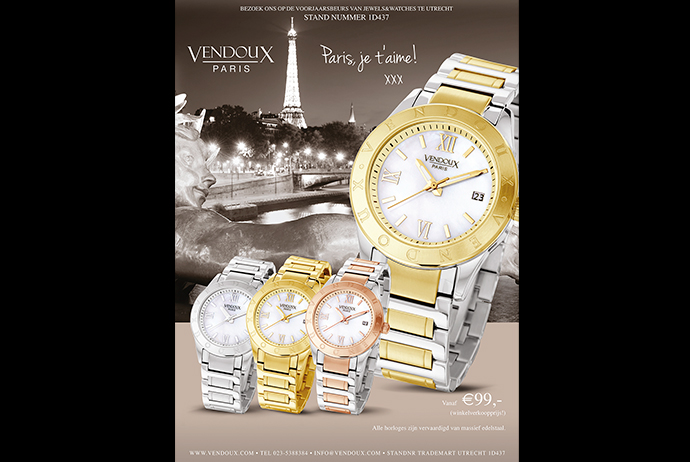 Advertentie horloges