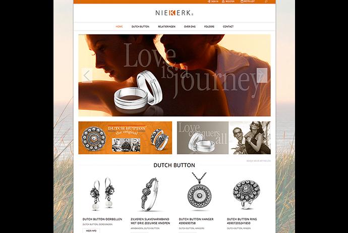 Website met shop