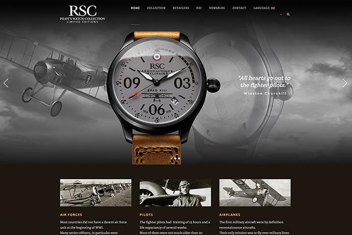 Imagowebsite horloges